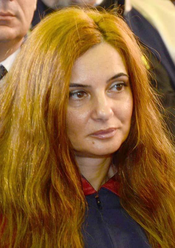 Victoria Bogdan, şefa Comisiei de Buget-Finanţe a Senatului Universității din Oradea