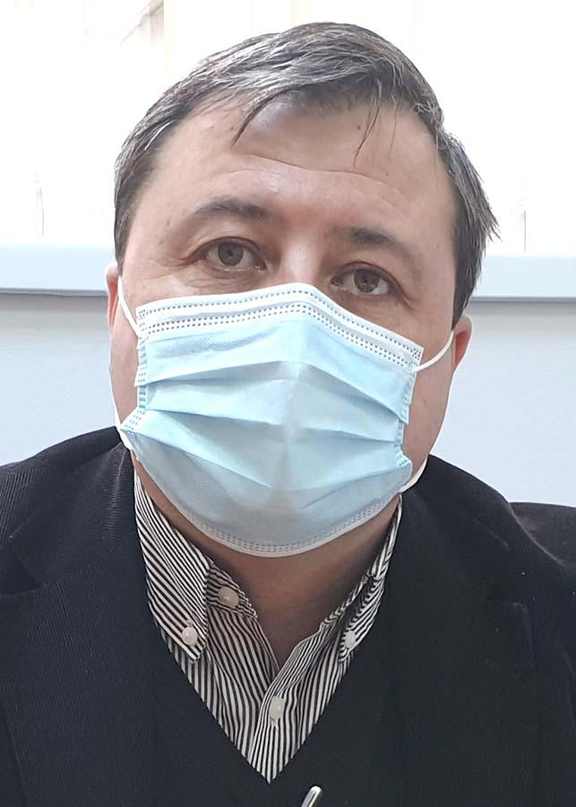Laurenţiu Chiană, managerul Spitalului Judeţean din Oradea