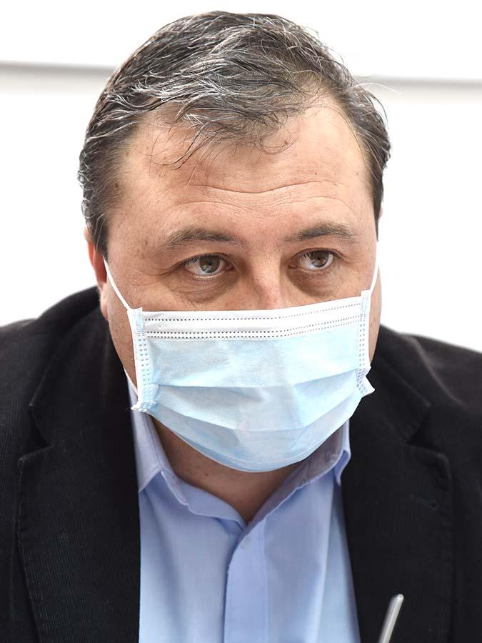managerul spitalului Municipal Oradea, Laurenţiu Chiană