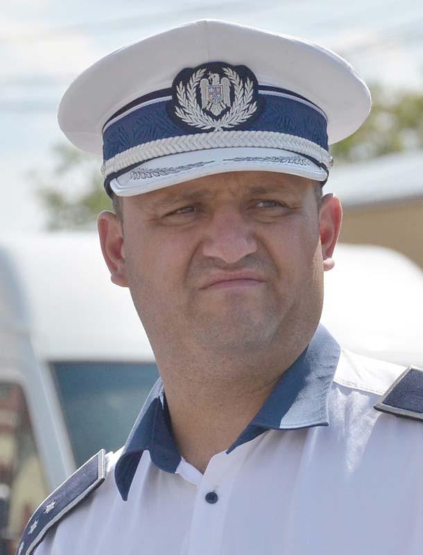 Alin Gherman, şeful Biroului Rutier Oradea