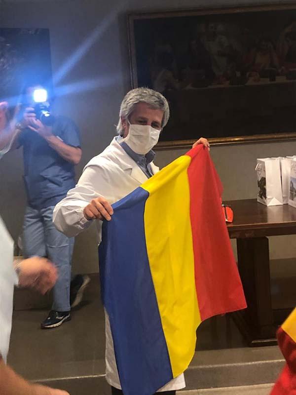 dr. Mario Tavola (foto), medicul-şef regional ATI în spitalul din Lecco