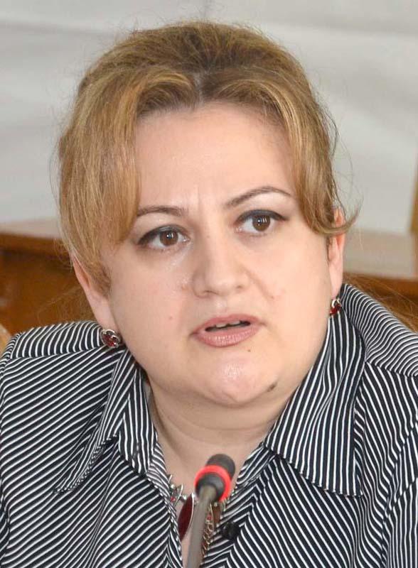 directorul juridic al municipalităţii, Eugenia Borbei