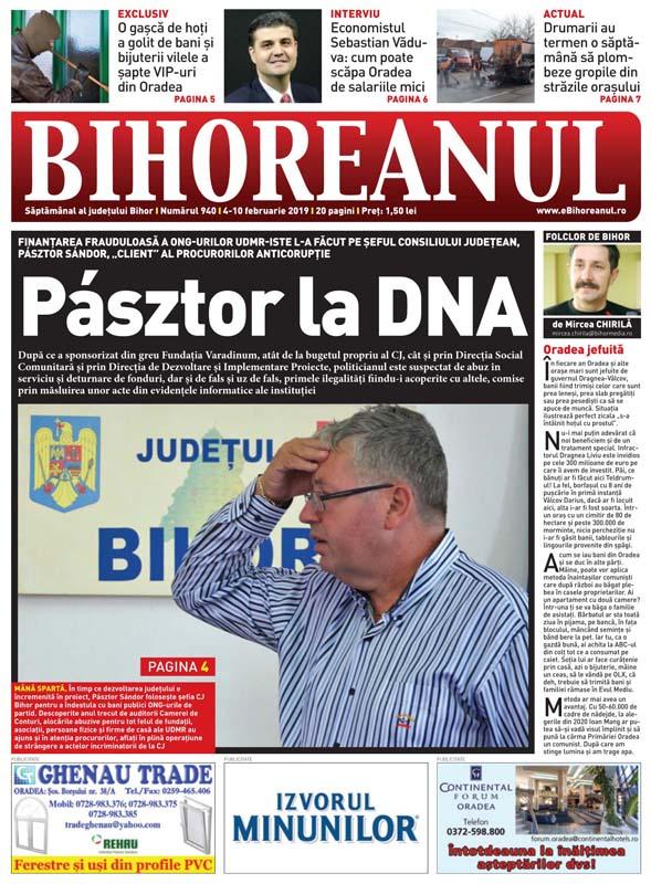 Pasztor la DNA, facsimil ziar