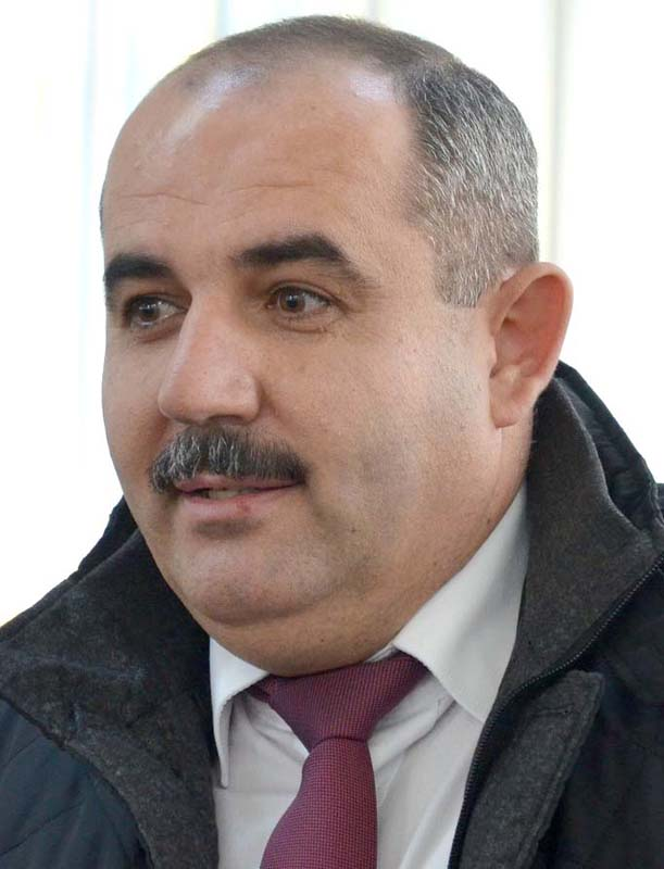 Gheorghe Bota, edilul din comuna Rieni.