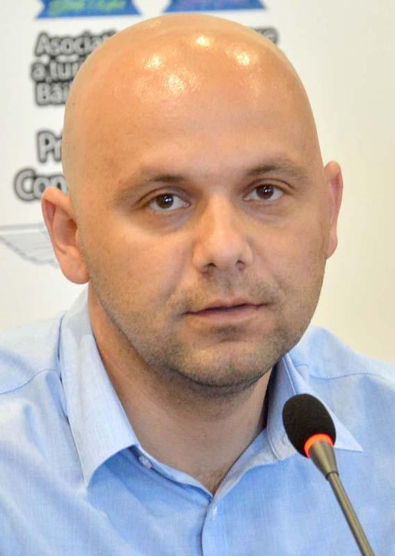 Ciprian Anta, city managerul comunei Sânmartin