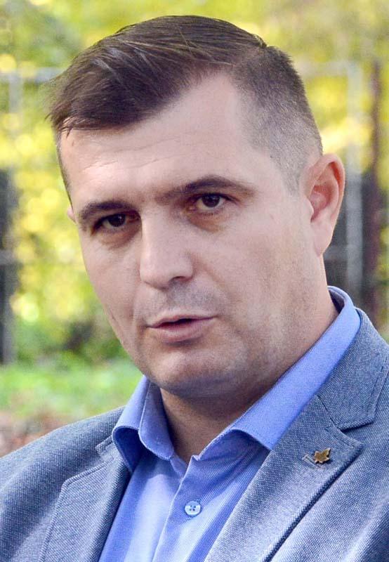 Cristian Laza, primarul comunei Sânmartin
