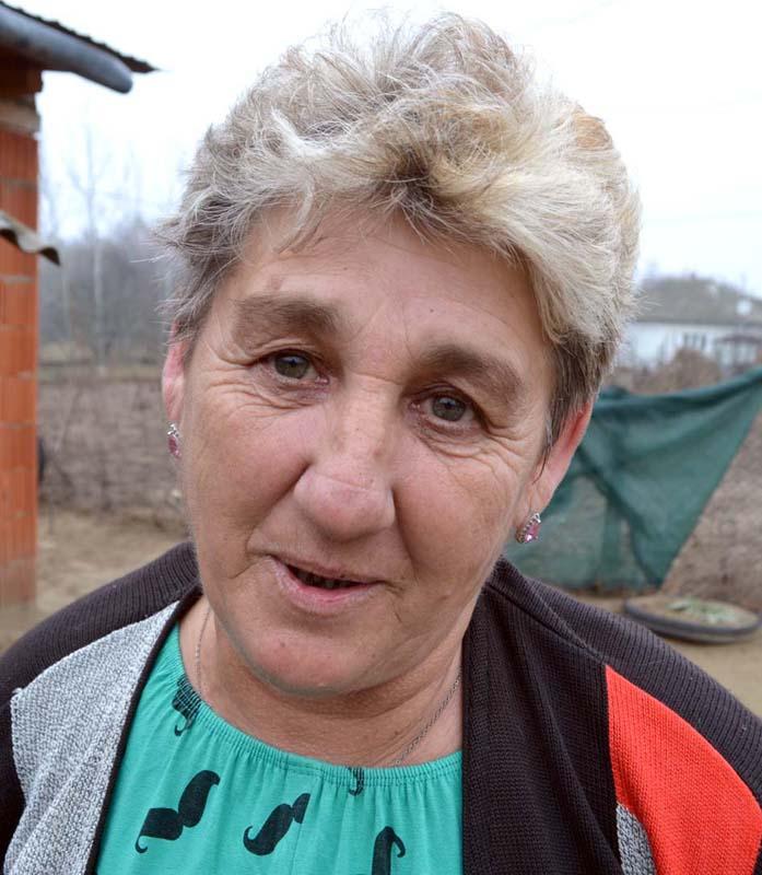 Violeta Nyeki, soția lui Iosif Nyeki