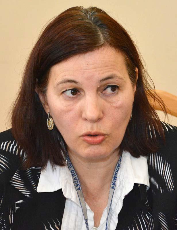 Adriana Lipoveanu, șefa Instituției Arhitecului Șef din Primăria Oradea