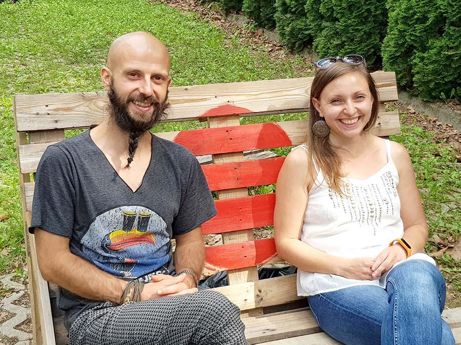 Răzvan Marchiş și Delia Sfechiş, proprietari MA Hub