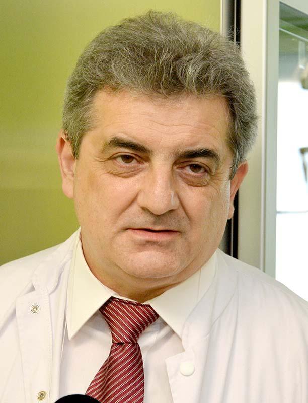 Dr. Ciprian Brisc, şeful secţiei de Gastroenterologie
