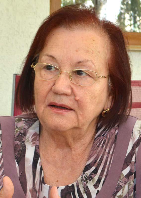 Florica Florea, pensionară Oradea