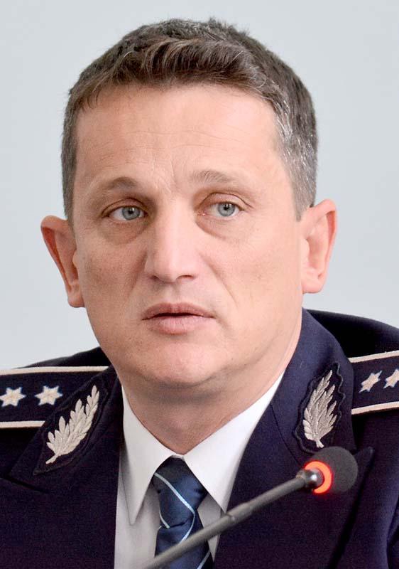 chestorul Alin Haniş, şeful Poliţiei Bihor