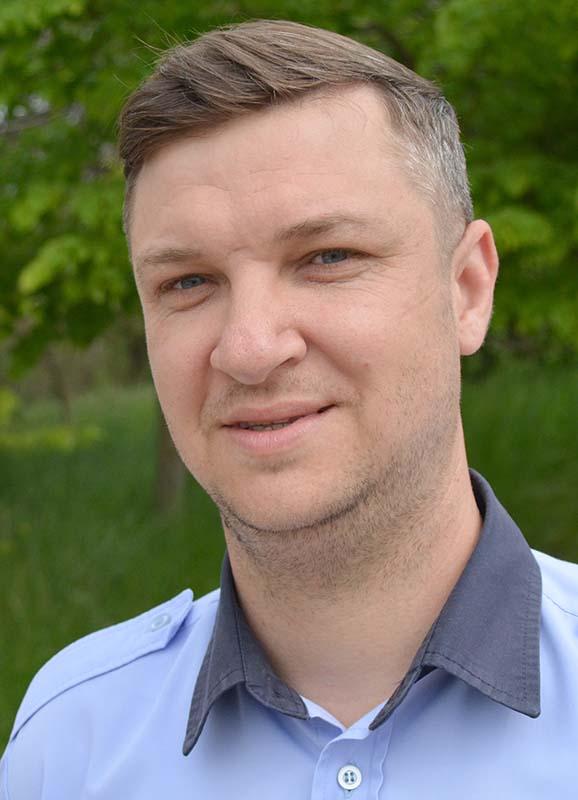 Ionuţ Jurjea, poliţist local Oradea