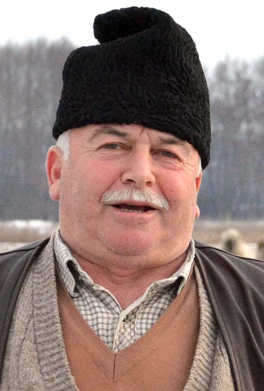 Dumitru Gheorghe, crescător de oi Bihor