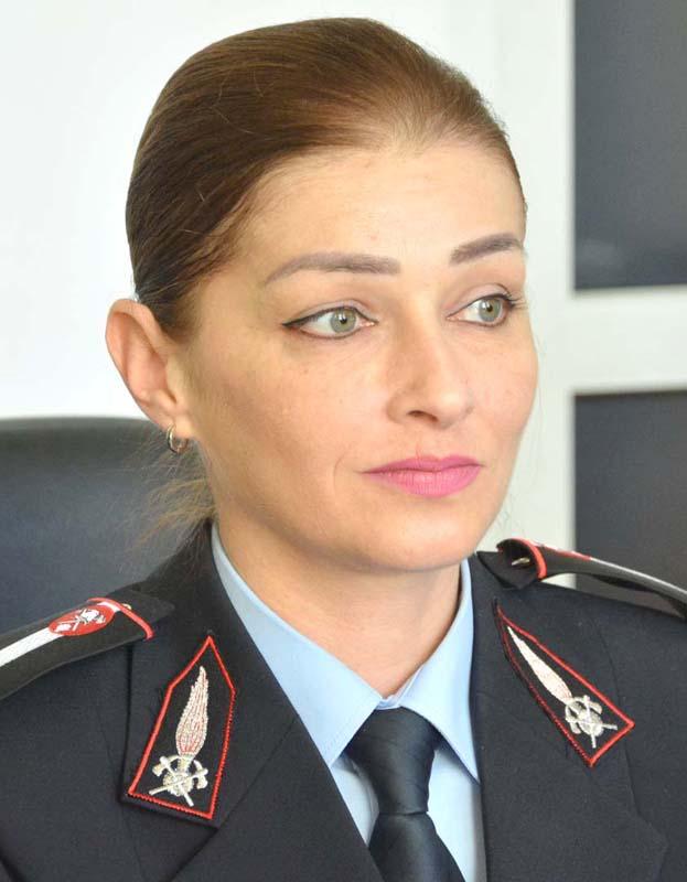Camelia Roșca, purtătorul de cuvânt al Inspectoratului pentru Situații de Urgență Crișana
