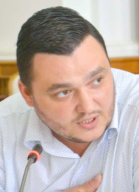 Liviu Sabău Popa, liderul grupului PSD din Consiliul Local