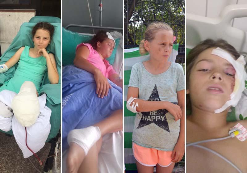 Surori Sălard, victime accident Calea Clujului Oradea