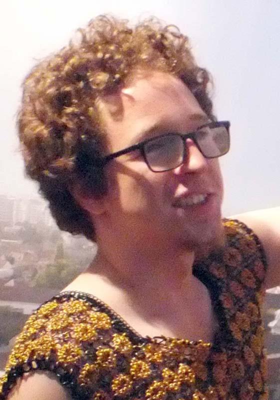 Gabriel Bako jr, patronul Galeriei Visual Kontakt, autointitulat Miloia