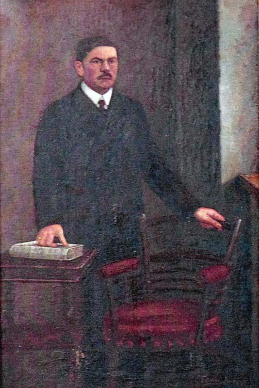 Ioan Ciordaş, delegat oficial al comitatului Bihor la Marea Adunare Naţională de la Alba Iulia