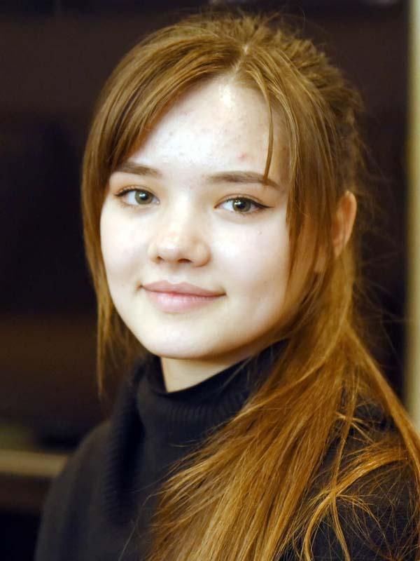 Natalia Meşina, elevă Republica Moldova