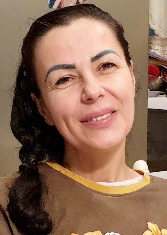 Geta Negrean, artistă Ansamblul Crișana, vecină Alexandru Lele