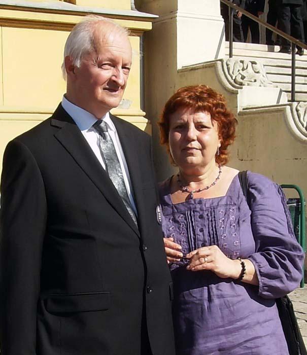 soții Tóth Károly şi Ilona Antal