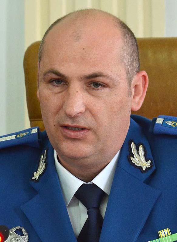 Şeful Jandarmeriei Bihor, locotenent colonel Ioan Bogdan