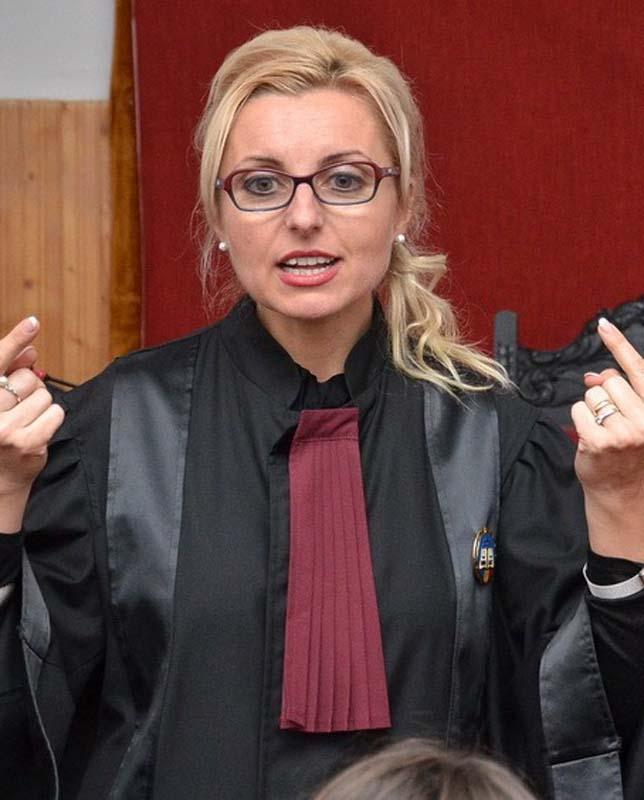 preşedinta Tribunalului Bihor, Carmen Domocoş