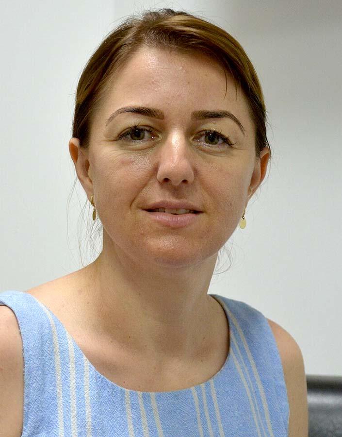directoarea centrului de tineret The Spot, Delia Mela
