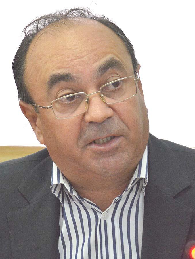 Nicolae Hodișan, șeful Driecției Agricole
