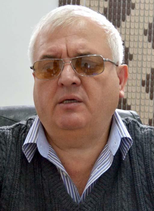 Ioan Boiț, președintele Asociației Nevăzătorilor Bihor - Sălaj