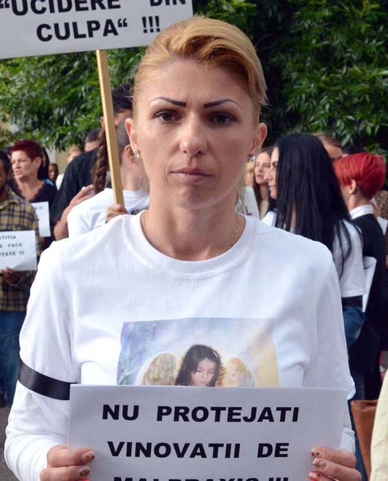 Delia Scorțe, mama Patriciei Aktaa