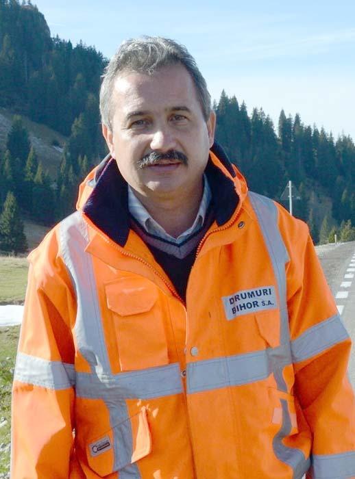 Dorel Crăciun, directorul firmei Drumuri Bihor