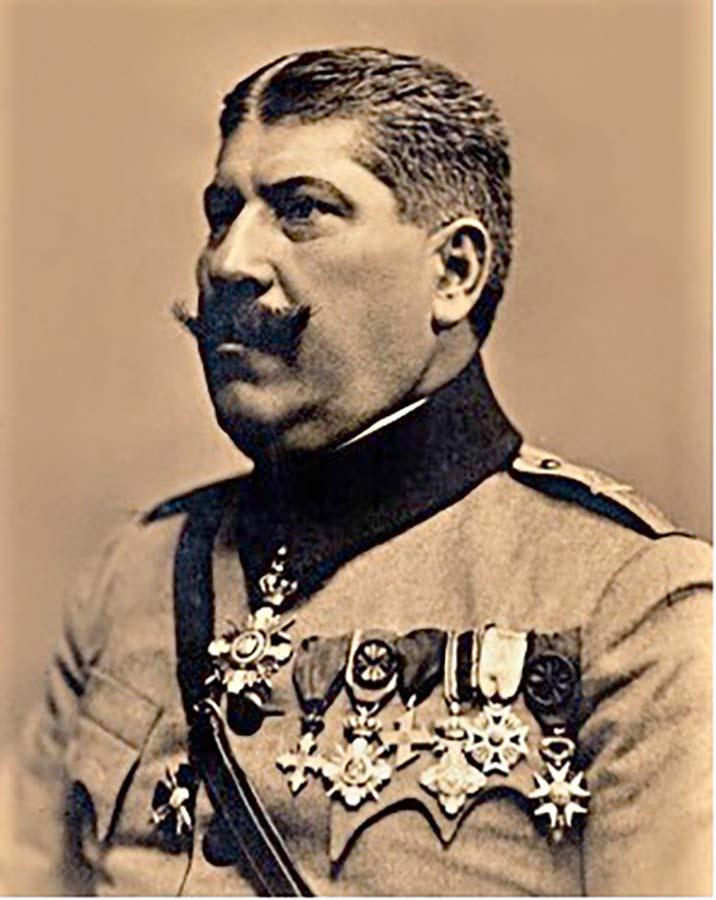 Traian Moşoiu, general
