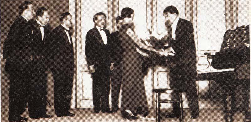 George Enescu la Oradea