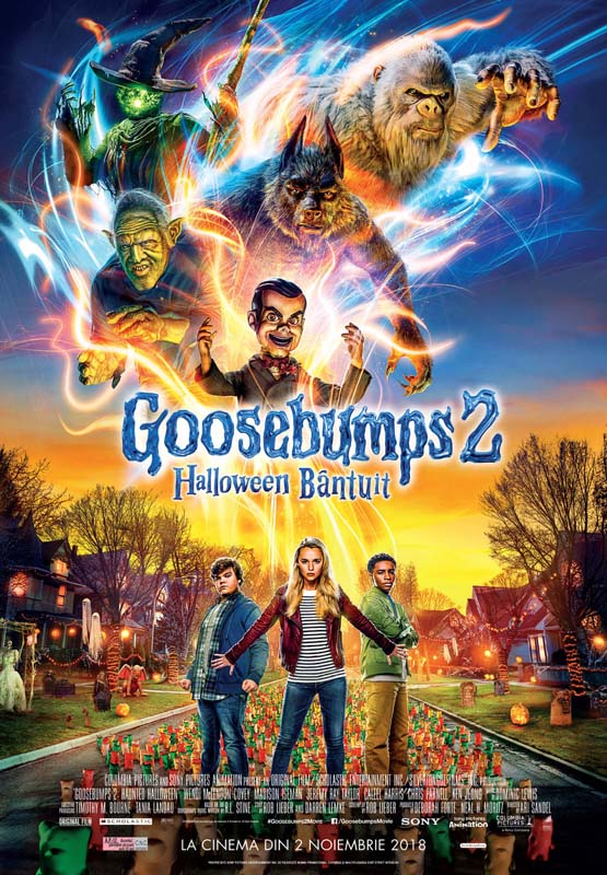 film Goosebumps 2