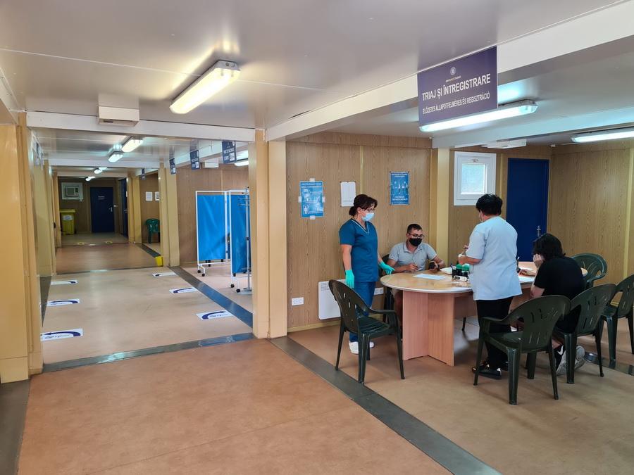 centru de vaccinare Oradea