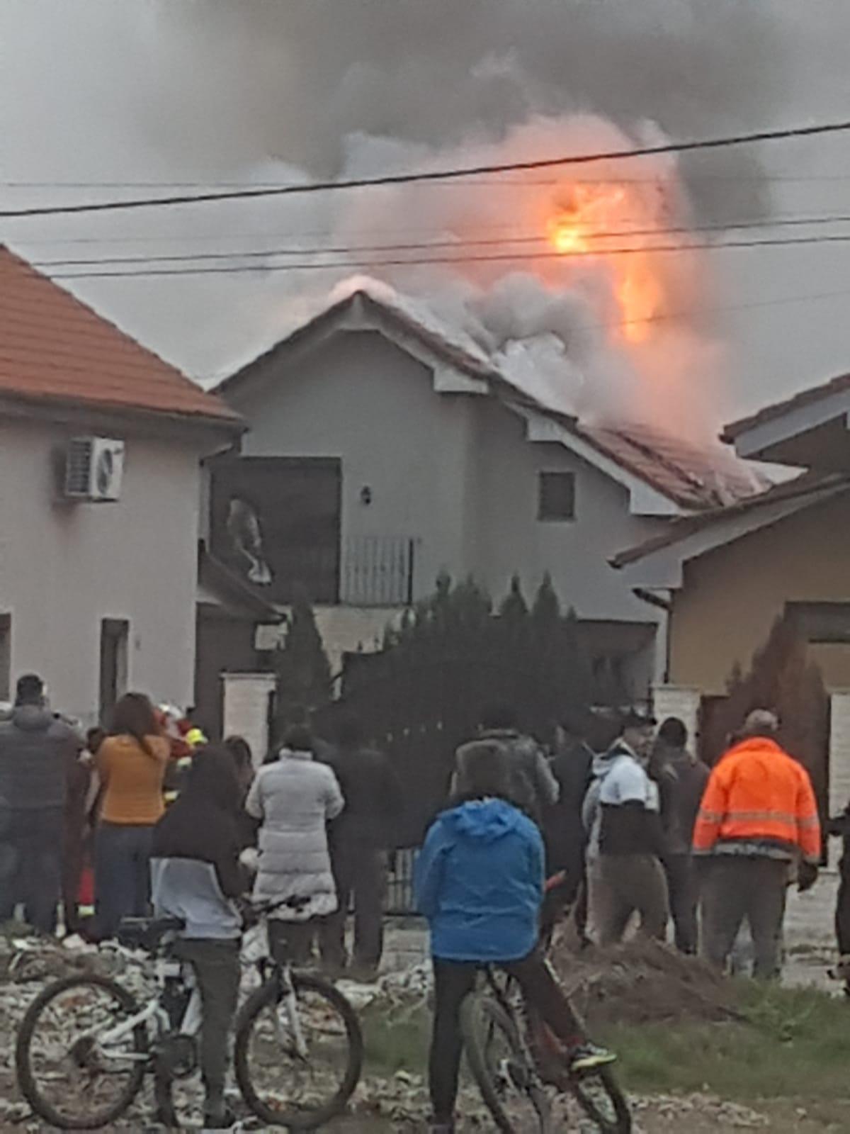 Incendiu Sânmartin