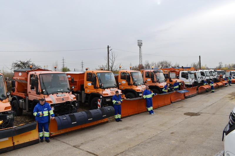 RER Vest, inspecţia de iarnă