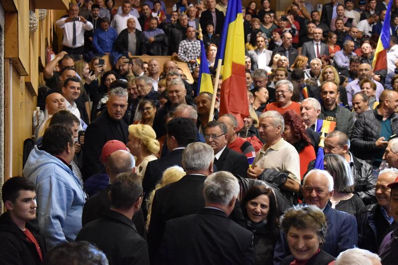 Miting electoral PSD Bihor, Viorica Dăncilă