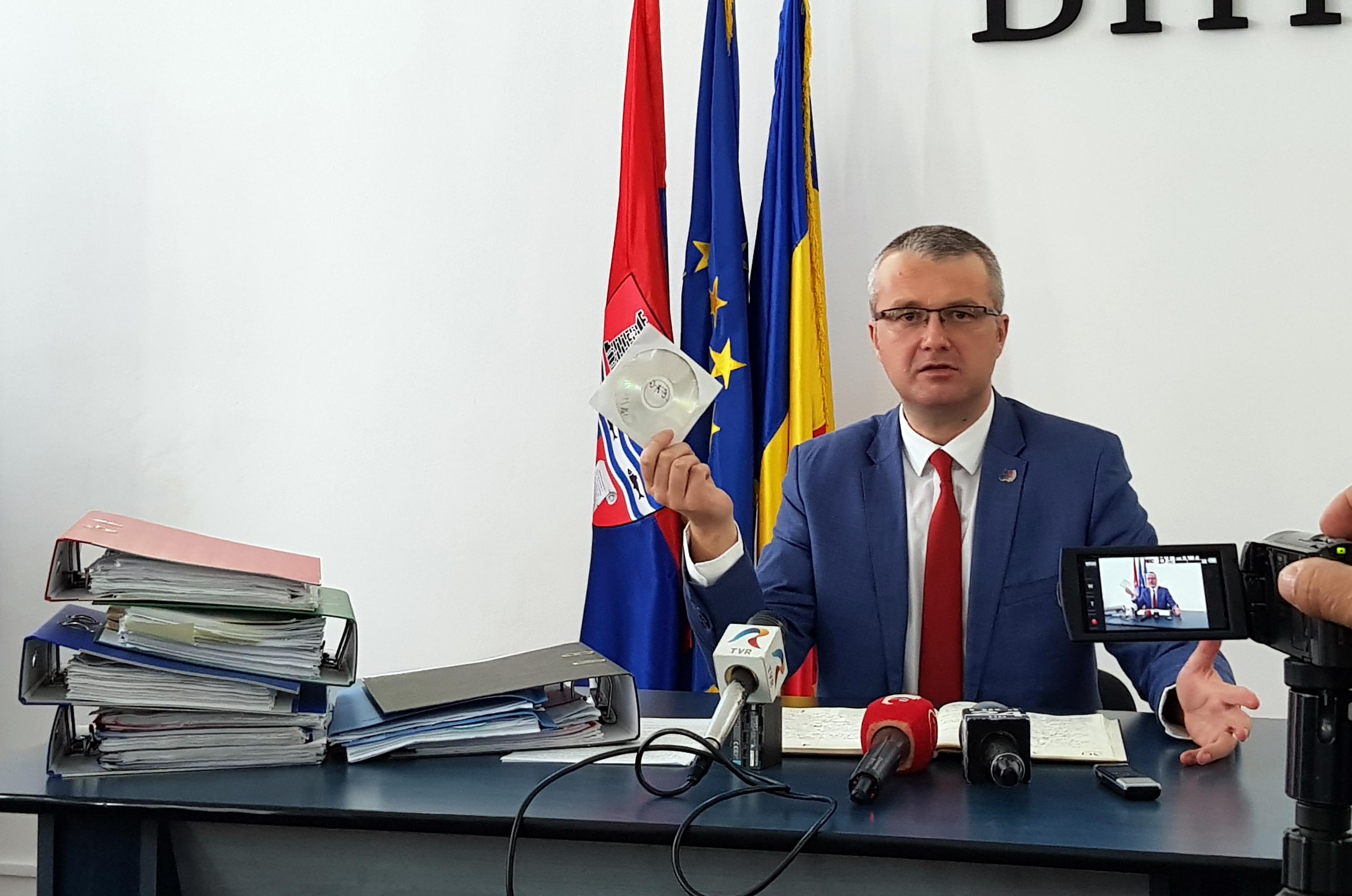 Alin Iuhas Novac, şeful IŞJ Bihor