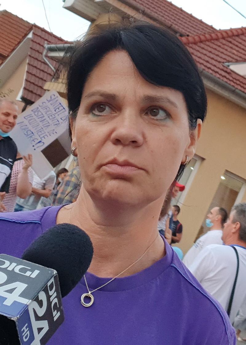 Rodica Boitoș, localnică Sântandrei