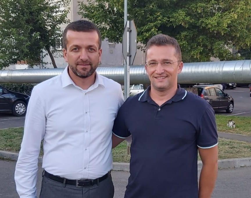Florin Birta şi Sebastian Lascu