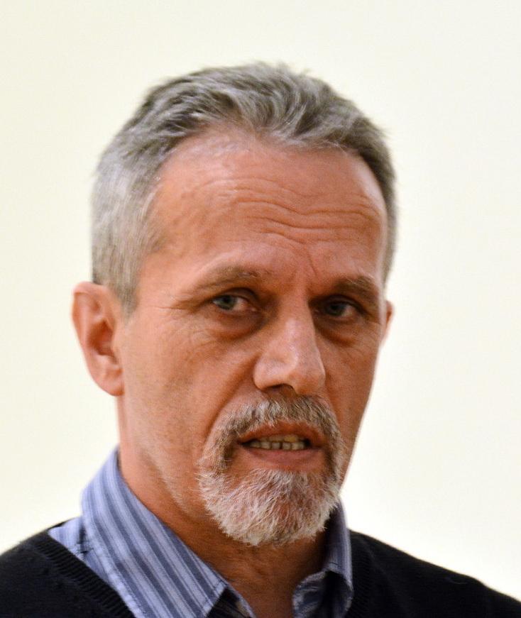 Marton Venczel, seful Sectiei de Stiintele Naturii