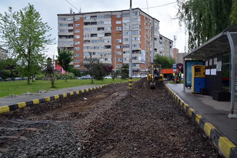 Linie noua de tramvai Oradea
